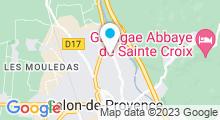 Plan Carte Piscine Canourgues à Salon-de-Provence