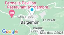 Plan Carte Piscine Caron à Bargemon