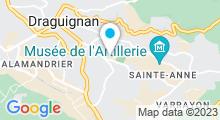 Plan Carte Piscine Jean Boiteux à Draguignan