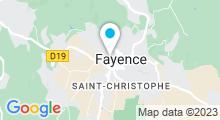 Plan Carte Piscine à Fayence