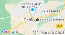 Plan Carte Piscine intercommunale à Gareoult