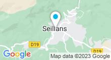 Plan Carte Piscine à Seillans