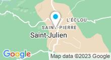 Plan Carte Piscine à Saint Julien