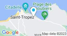 Plan Carte Piscine à Saint Tropez