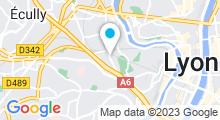 Plan Carte Piscine Jean Mermoz à Lyon