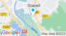 Plan Carte Piscine Canetons à Draveil