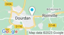 Plan Carte Centre aquatique Hudolia - Piscine à Dourdan