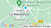 Plan Carte Piscine de Méréville