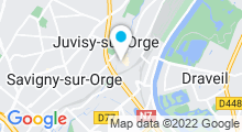 Plan Carte Piscine Suzanne Berlioux à Juvisy-sur-Orge
