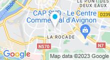 Plan Carte Piscine Chevalier de Folard à Avignon
