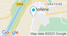 Plan Carte Piscine à Bollene