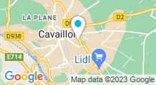 Plan Carte Piscine couverte à Cavaillon