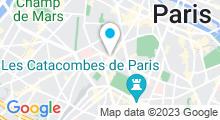 Plan Carte Piscine Armand Massard - Tour Montparnasse, Paris 15e