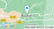 Plan Carte Piscine à Rustrel