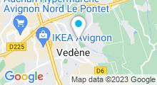Plan Carte Piscine à Vedène