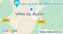 Plan Carte Piscine à Villes sur Auzon