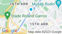 Plan Carte Piscine Keller à Paris (15e)