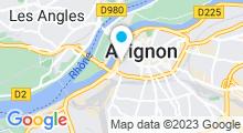 Plan Carte Piscine Reyne - Mistral en Avignon
