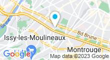 Plan Carte Piscine de la Plaine à Paris (15e)