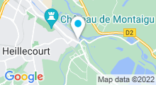 Plan Carte Piscine de Laneuveville Devant Nancy