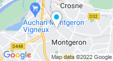 Plan Carte Piscine de Montgeron