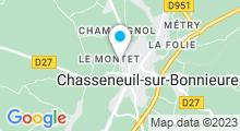 Plan Carte Piscine à Chasseneuil sur Bonnieure