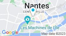 Plan Carte Piscine Léo-Lagrange à Nantes