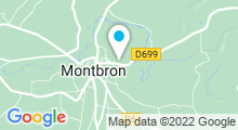 Plan Carte Piscine de Montbron