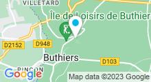 Plan Carte Piscine de Buthiers