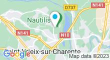 Plan Carte Centre nautique Nautilis - Piscine à St Yrieix sur Charente