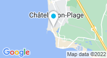 Plan Carte Piscine de Chatelaillon Plage