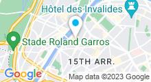 Plan Carte Piscine René et André Mourlon à Paris (15e)