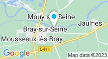 Plan Carte Piscine de Bray-sur-Seine