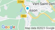 Plan Carte Piscine Georges et Rolande Hagondokoff à Cesson