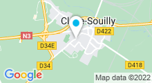 Plan Carte Piscine de Claye-Souilly