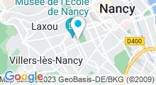 Plan Carte Piscine olympique Thermal à Nancy