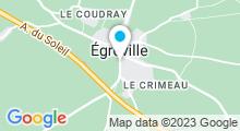 Plan Carte Piscine d'Egreville