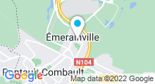 Plan Carte Piscine d'Emerainville