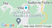 Plan Carte Piscine Pierre de Coubertin à Villerupt