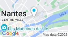 Plan Carte Piscine de la Petite-Amazonie à Nantes