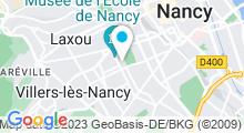 Plan Carte Piscine Ronde Thermal à Nancy