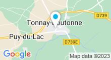 Plan Carte Piscine à Tonnay Boutonne