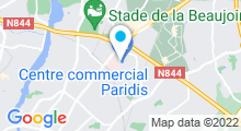 Plan Carte Piscine Jules Verne à Nantes