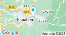 Plan Carte Piscine à Espalion