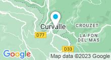 Plan Carte Piscine à Plaisance (Aveyron)