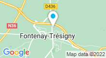 Plan Carte Centre aquatique La Vague - Piscine à Fontenay-Trésigny