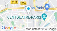 Plan Carte Piscine des Amiraux à Paris (18e)