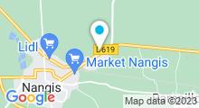 Plan Carte Piscine de Grandpuits-Bailly-Carrois