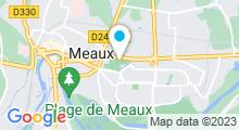 Plan Carte Complexe nautique Georges Tauziet - Piscine à Meaux