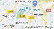 Plan Carte Piscine de Bagneux